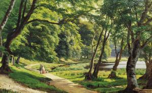 A Walk in the Park by Carsten Henrichsen