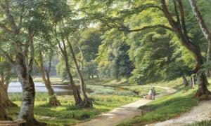 Walk in the Park, Copenhagen by Carsten Henrichsen