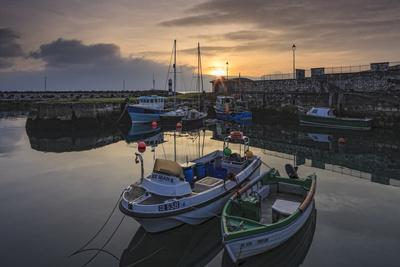 Carnlough Harbour, County Antrim, Ulster, Northern Ireland, United Kingdom, Europe