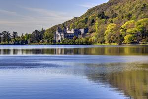 Kylemore Abbey, Connemara, County Galway, Connacht, Republic of Ireland, Europe by Carsten Krieger