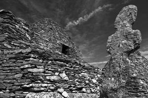 Monastery on Skellig Michael, UNESCO World Heritage Site, County Kerry, Munster, Republic of Irelan by Carsten Krieger