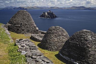 Monastery on Skellig Michael, UNESCO World Heritage Site, County Kerry, Munster, Republic of Irelan