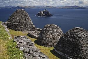 Monastery on Skellig Michael, UNESCO World Heritage Site, County Kerry, Munster, Republic of Irelan by Carsten Krieger