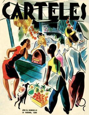 Carteles, Retro Cuban Magazine, Listening to the Radio