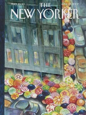 The New Yorker Cover - April 23, 2007 by Carter Goodrich