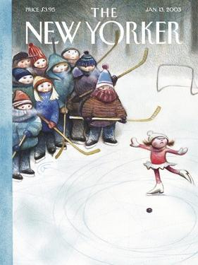 The New Yorker Cover - January 13, 2003 by Carter Goodrich