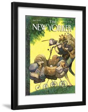 The New Yorker Cover - May 15, 2006 by Carter Goodrich