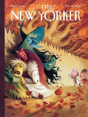 The New Yorker Cover - November 3, 2008 by Carter Goodrich
