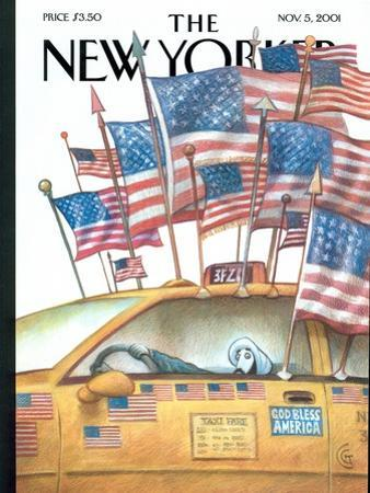 The New Yorker Cover - November 5, 2001 by Carter Goodrich