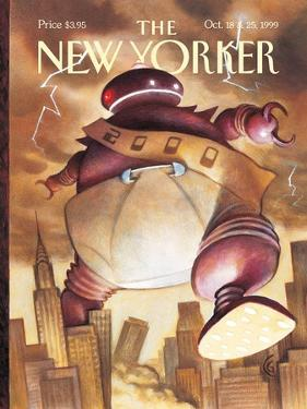 The New Yorker Cover - October 18, 1999 by Carter Goodrich