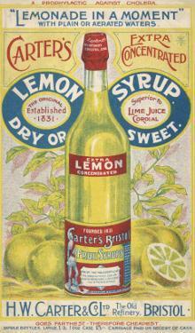 Carter's Lemon Syrup - Lemonade in a Moment