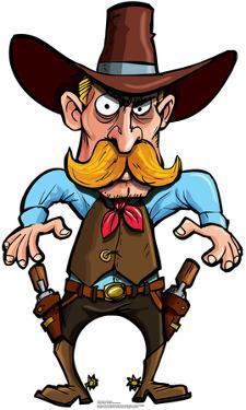 Cartoon Cowboy Lifesize Standup