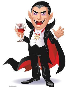Cartoon Dracula Standup