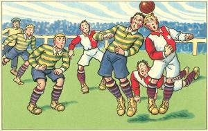 Cartoon Soccer Game