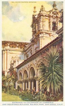 Casa del Prado, Balboa Park, San Diego, California
