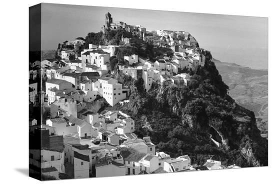 Casares, Spain--Stretched Canvas Print