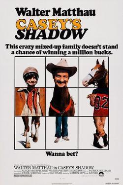Casey's Shadow, Michael Hershewe, Walter Matthau, 1978