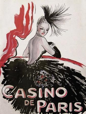 Casino de Paris Red and Black