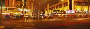 Casino Lit Up at Night, Fremont Street, Las Vegas, Nevada, USA