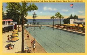 Casino Swimming Pool, Santa Barbara, California