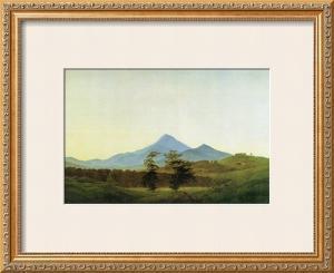 Bohemian Landscape by Caspar David Friedrich
