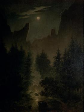 Clearing in the Forest by Caspar David Friedrich
