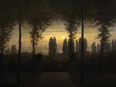 In Memoriam J. E. Bremer by Caspar David Friedrich