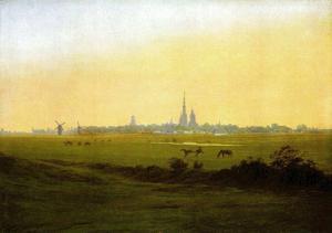 Caspar David Friedrich (Near Greifswald) Art Poster Print
