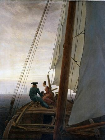 On Board a Sailing Ship, Between 1818 and 1820