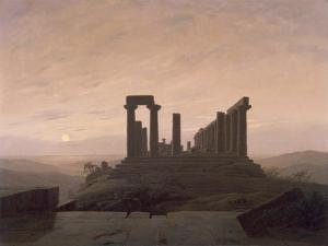 The Temple of Juno in Agrigento by Caspar David Friedrich