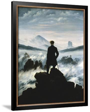 The Wanderer Above the Sea of Fog, c.1818 by Caspar David Friedrich