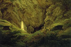Tombs of Ancient Heroes by Caspar David Friedrich