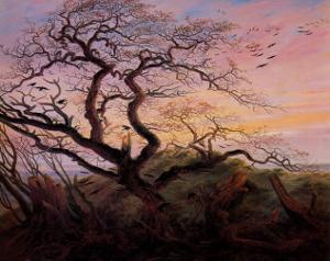 Tree with Crows by Caspar David Friedrich