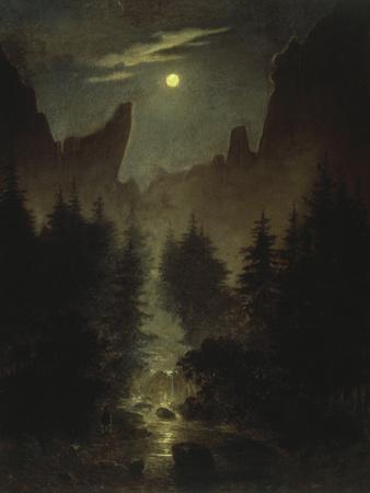 Uttewalder Grund, C. 1825