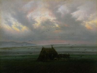 Waft of Mist, circa 1818-20 by Caspar David Friedrich