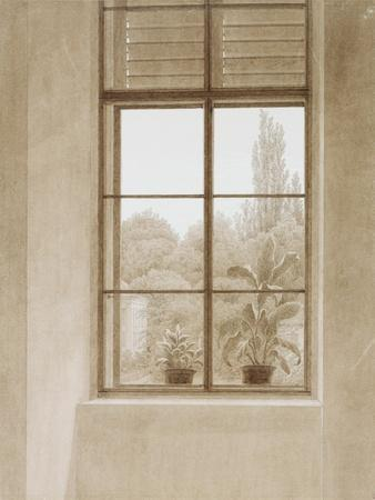 Window Looking over the Park, 1810-1811