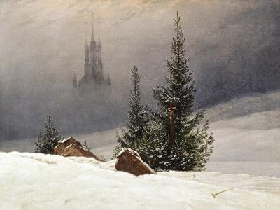 Winter Landscape with Church, 1811