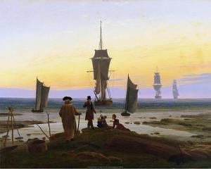The Stages of Life, 1835 by Caspar Friedrich