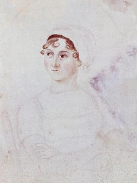 Portrait of Jane Austen, C.1810 by Cassandra Austen