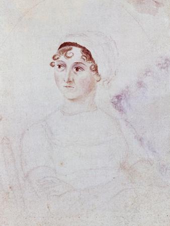 Portrait of Jane Austen, C.1810
