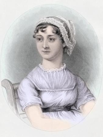 Portrait of Jane Austen, C.1850