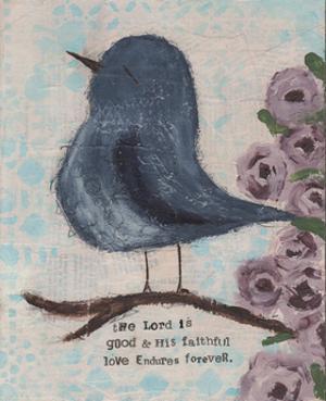 Blue Bird by Cassandra Cushman