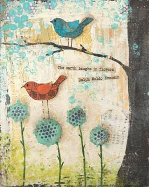 Earth Laughs in Flowers by Cassandra Cushman