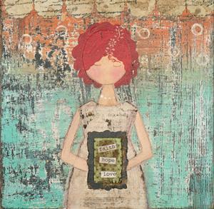 Faith Hope Joy by Cassandra Cushman