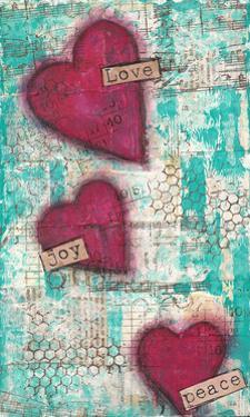 Love Joy Peace by Cassandra Cushman