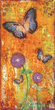 Violet Flutters by Cassandra Cushman