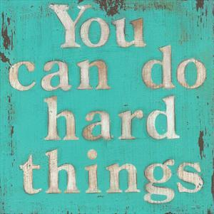 You Can Do Hard Things by Cassandra Cushman