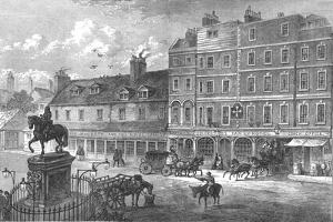 Charing Cross, 1750 by Cassell & Co