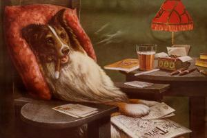 Bachelor's Dog by Cassius Marcellus Coolidge