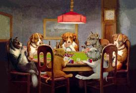 83906d35046 Affordable Dogs Playing Poker Posters for sale at AllPosters.com